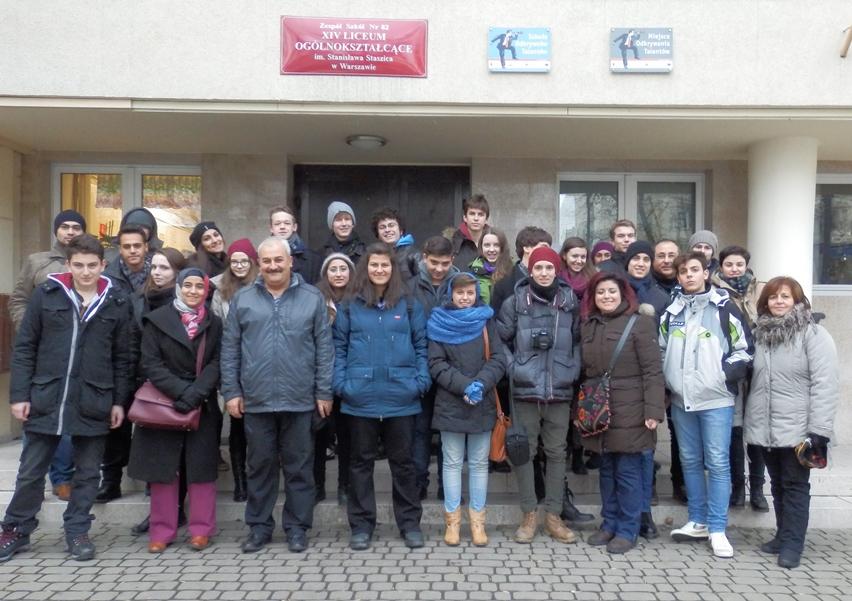Comenius zdjęcie grupowe